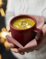 Soupe butternut épicée au citron | Recette | Soupe butternut ...